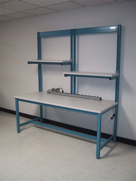 bench shelf rdm workbench f 103p adjshlf tech table w adjustable