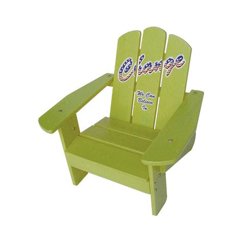 Child Patio Chair Lohasrus Yellow Patio Adirondack Chair Mm20122 The Home Depot