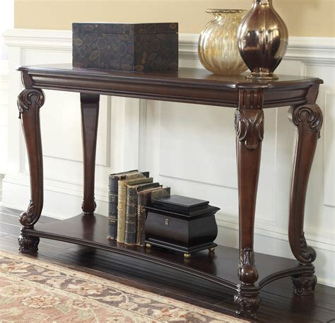 Buy Ashley Furniture T519 4 Norcastle Sofa Table Pictures Of Sofa Tables Couches