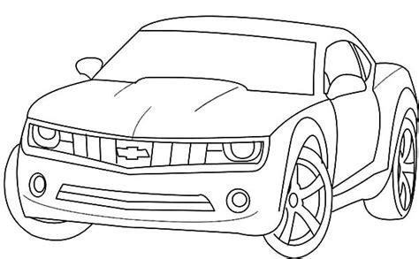 bumblebee car coloring page chevrolet camaro bumblebee car coloring pages chevrolet