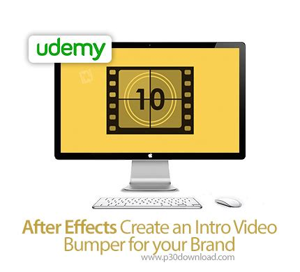 tutorial after effects bumper udemy after effects create an intro video bumper for your