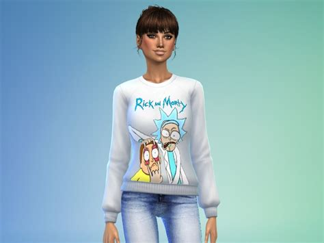 Sweater Rick And Morty Nes Cartridge fornoraisin s rick morty sweater top spa day