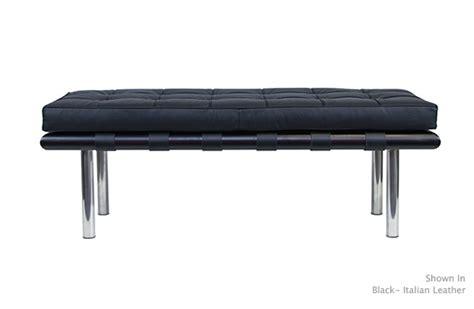 van bench barcelona bench modern furniture van der rohe serenity