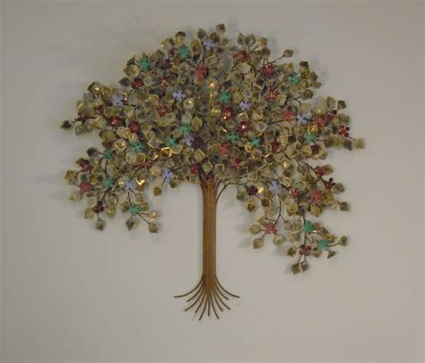 home decor wall sculptures tree of metal wall metal wall sculpture