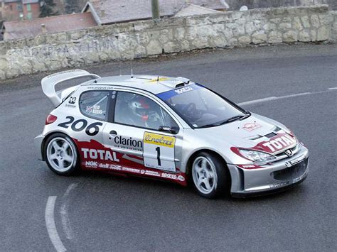 peugeot 206 rally european rally car pictures peugeot 206 wrc