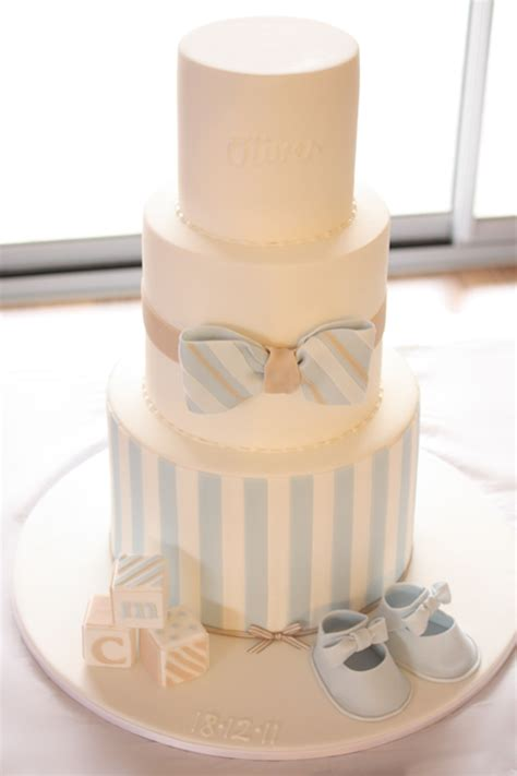 Bow Tie Baby Shower Cake by Bow Tie Christening Cake Christening Cake For Oliver