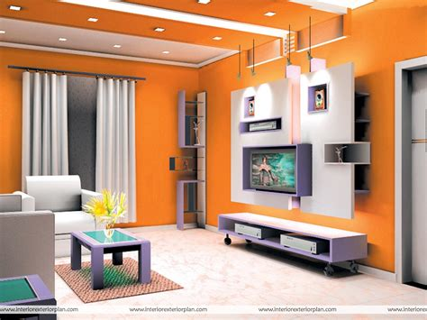 design living interior exterior plan orange beauty at its best