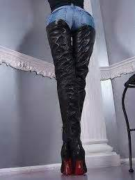 best 25 crotch boots ideas on black thigh
