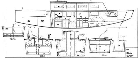 scow hull plans scow boat plans andybrauer