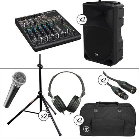 Speaker Advance H 15 mackie 1000w 15 quot powered loudspeaker advanced pa kit b h
