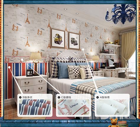 eiffel tower wallpaper for bedroom 2015 british style eiffel tower wallpaper thicker non
