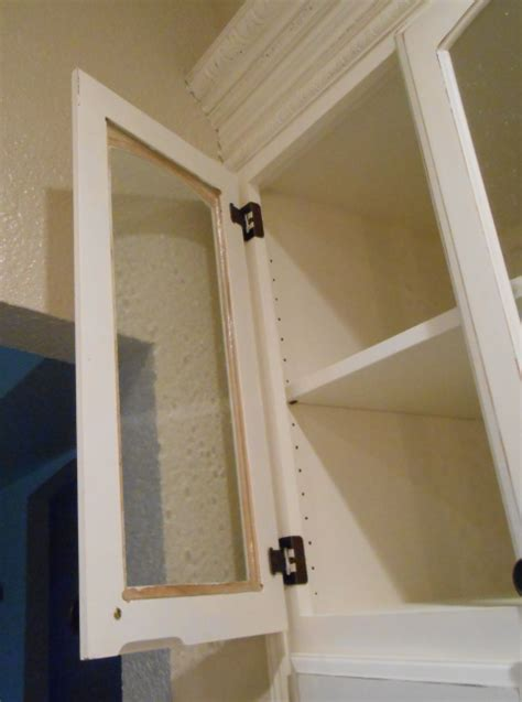 Diy Changing Solid Cabinet Doors To Glass Inserts Simply How To Make Glass Doors