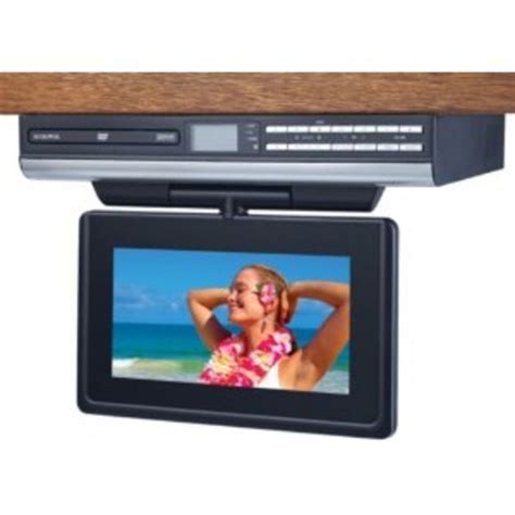 under cabinet television for kitchen best under cabinet tvs for kitchen tv dvd combo or tv