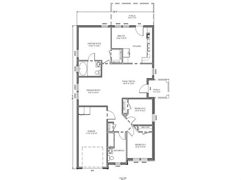 Plans For House by Small House Floor Plan Small House Plans Micro House