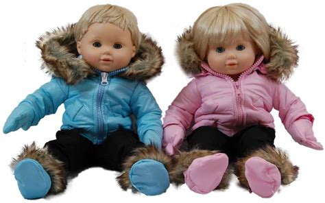 Baby Doll Closet by Pink Snow Suit For 15 Quot Bitty Baby Doll Clothes