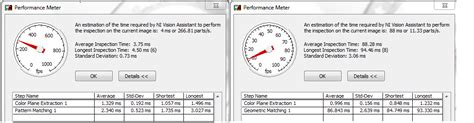 geometric pattern matching labview solved searching and matching difference between match