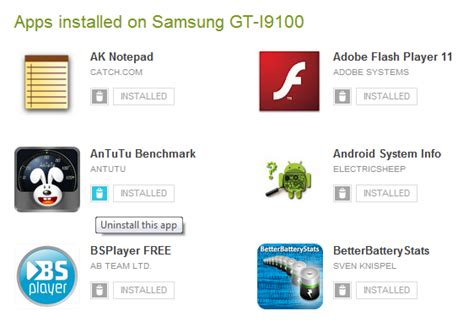 uninstall android update uninstall android apps remotely
