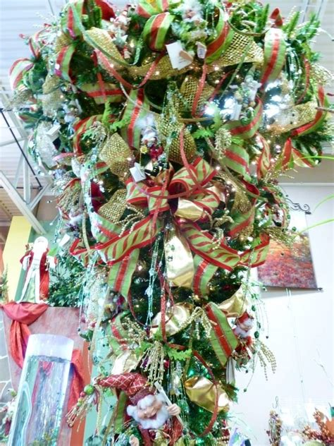 upside down christmas trees christmas decor pinterest upside down christmas tree christmas tree decorations
