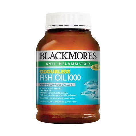 Minyak Ikan Innolife Fish jual blackmores odourless fish minyak ikan suplemen 1000mg 400 kapsul harga