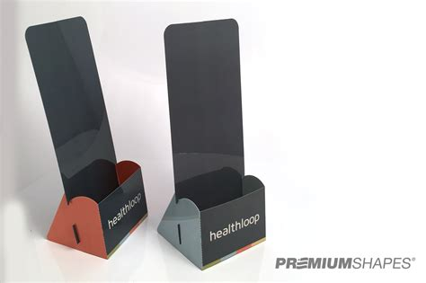 ship flat set of brochure holders are made in the usa