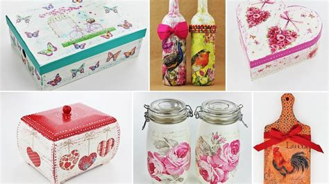 Decoupage Tutorials - 20 ideas decoupage part 2 fast easy tutorials diy
