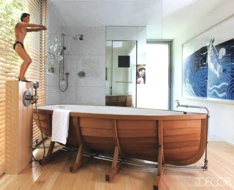 boat themed bathroom isn t this bathtub just interesting i don t know if i d