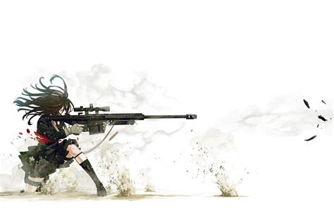 anime wallpaper hd gun anime sniper wallpapers hd wallpapers id 10722