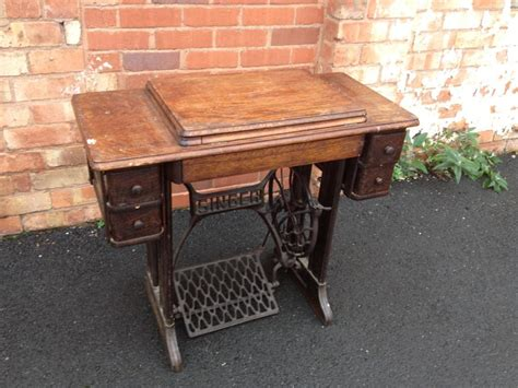Singer Sewing Machine With Table by Vintage Antique Singer Sewing Machine Table Spares