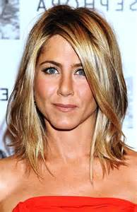 aniston hairstyles and color aniston