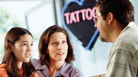 legal age to get a tattoo how do you to be to get a with your parent