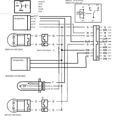 sv650 headlight wiring diagram wiring diagram with