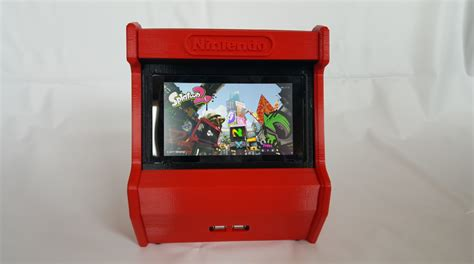 world of nintendo cabinet for sale nintendo switch 3d printed arcade cabinet pic 4 htxt africa