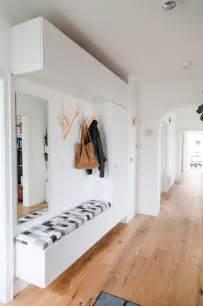 wandgestaltung garderobe die besten 17 ideen zu sitzbank flur auf