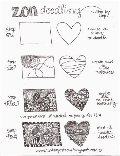 doodle tutorial pdf zen doodling steps pdf zentangle doodle