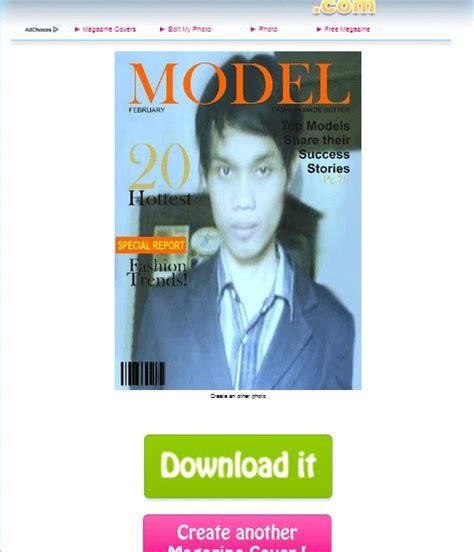 cara membuat cover novel yang bagus cara edit foto jadi cover majalah keren dengan online