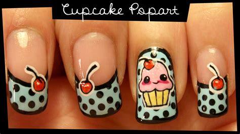 Koji Nail Stickers No 04 cupcake popart nail no stickers