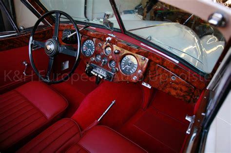 Jaguar Upholstery by Gallery Jaguar Xk140 Dhc Interior K H European Auto Upholstery