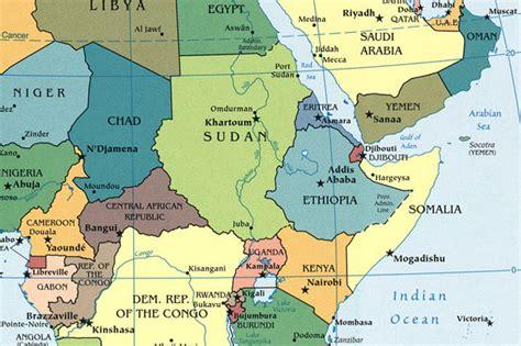 africa map 2013 central africa map world politics news