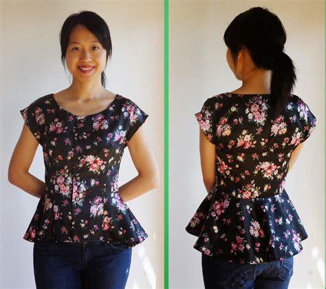 Retro Pattern Blouse 217211 cozycotton celeste s sewing floral satin retro blouse simplicity 1590