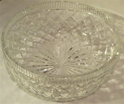 Vintage Waterford vintage waterford killeen center bowl for sale antiques