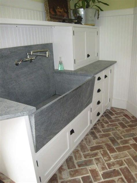 soap stone sink  countertop carved stone sinks