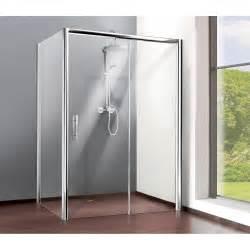 paroi lat 233 rale l 80 cm verre transparent 8 mm adena