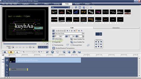 tutorial edit video dengan ulead video studio 11 ulead video studio 11 plus full version kuyhaa me
