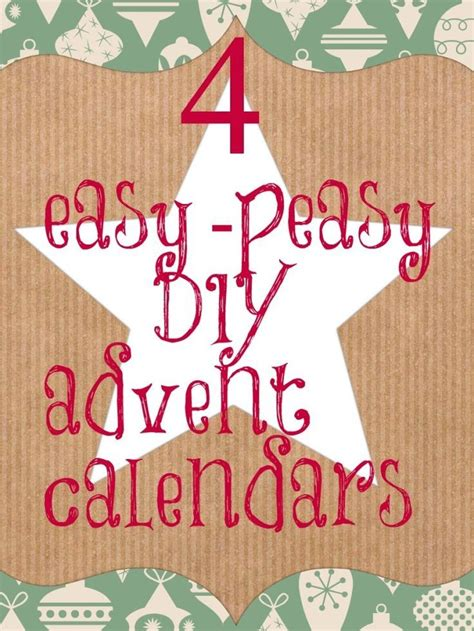 simple advent calendar to make the 25 best countdown ideas ideas on