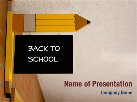 back to school powerpoint template back to school powerpoint templates back to school