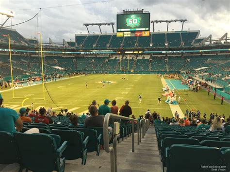 Open Section 8 In Florida by Rock Stadium Section 129 Miami Dolphins