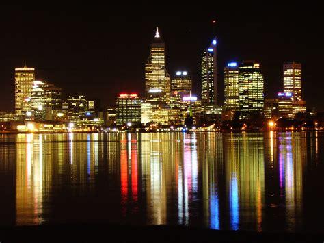 perth lights file perth skyline at jpg