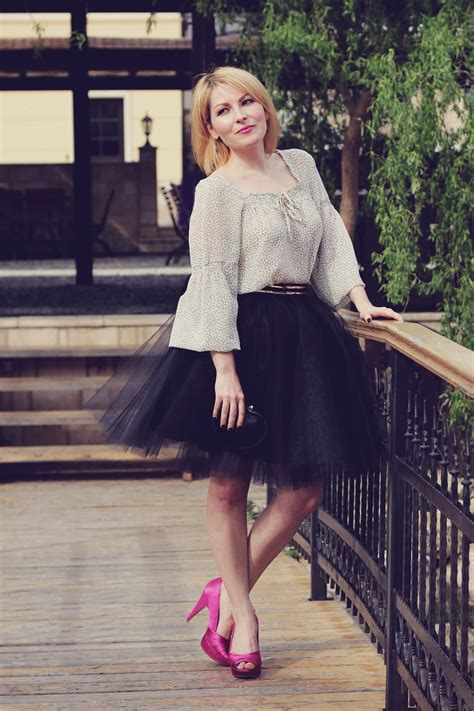 time  ballerina  tulle skirt