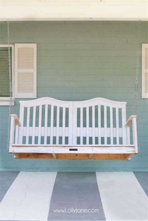 Crib Porch Swing by Baby Crib To Porch Swing Lolly