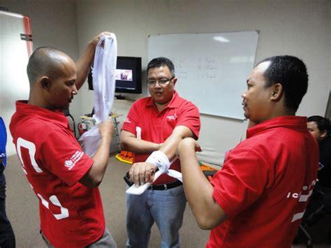 Kaos Merah One Satu Hati by Pengalaman Mengikuti Intermediate Aid Di